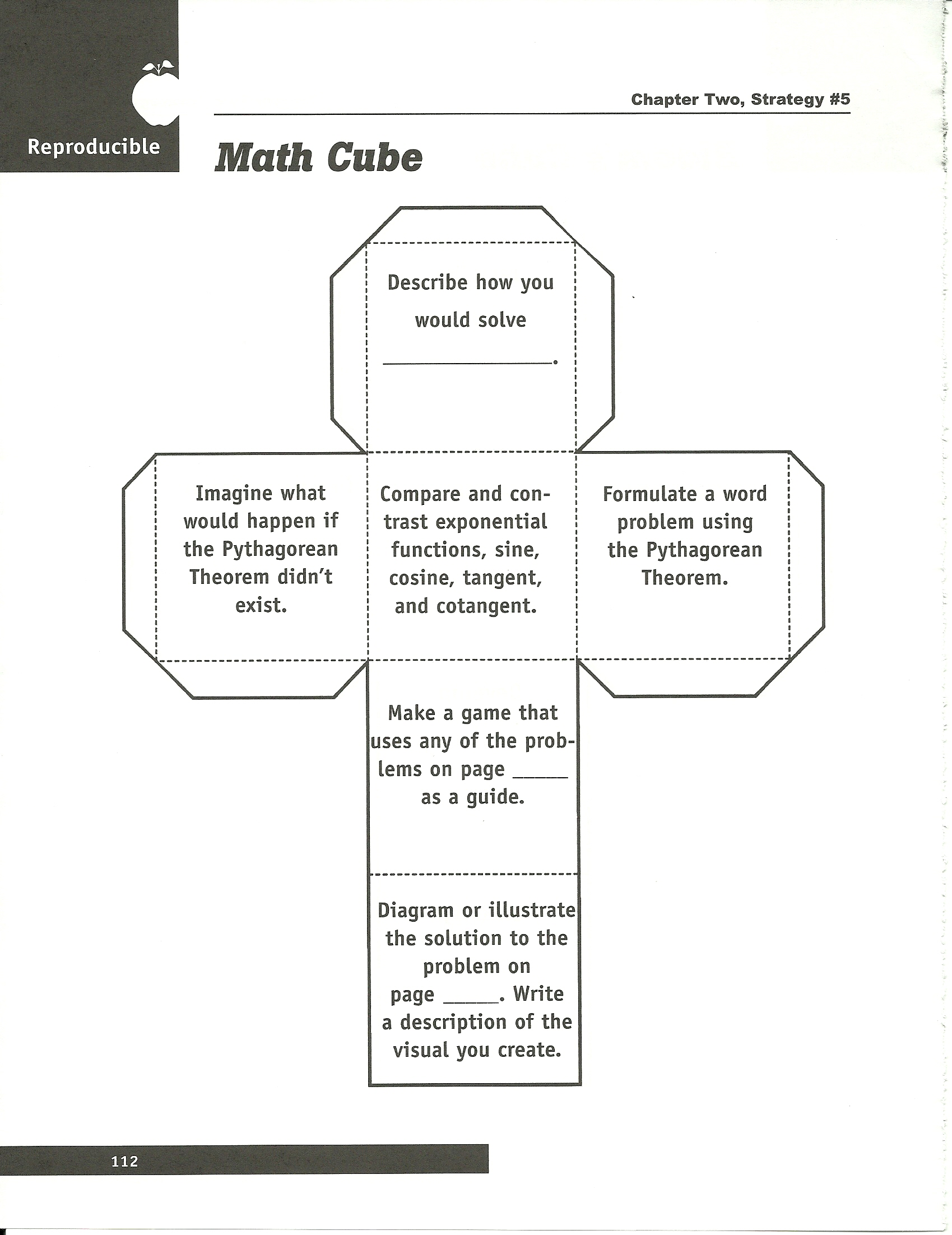 graphic about Cubes Math Strategy Printable named SD ESA Location 3 Data files